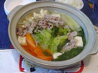 野菜たっぷり鍋♪